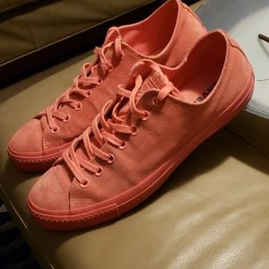 CONVERSE CHUCK TAYLOR PUNCH CORAL LOW RISE SNEAKER
